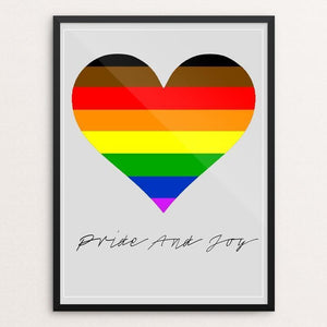 "Pride and Joy by Bob Rubin 12"" by 16"" Print / Framed Print Creative Action Network"