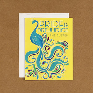 Pride and Prejudice Notecard by Alexis Lampley