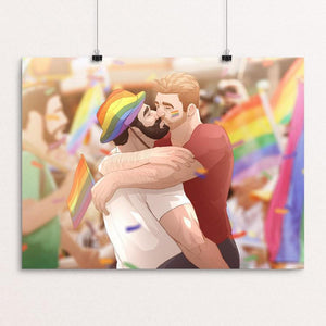 "Pride by JO Ji 12"" by 16"" Print / Unframed Print Creative Action Network"