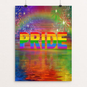 "PRIDE by Mac Titmus 12"" by 16"" Print / Unframed Print Creative Action Network"
