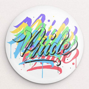 Pride to be a Fighter Button by Roberlan Paresqui 1 Pack Buttons Creative Action Network