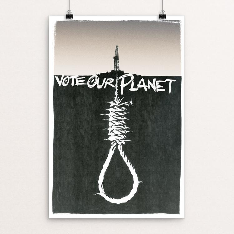 "Project: siXth eXtinction 1 by Jeffrey Hurt 12"" by 18"" Print / Unframed Print Vote Our Planet"