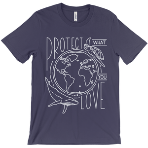 Protect What You Love Men's T-Shirt by Rachel Young
