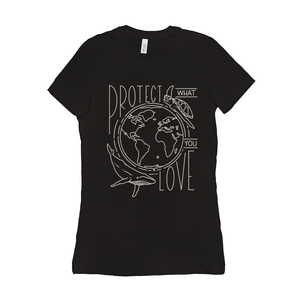 Protect What You Love Women's T-Shirt by Rachel Young