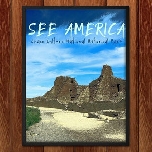 "Pueblo Bonito at Chaco Culture National Historical Park by Kaitlyn 12"" by 16"" Print / Framed Print See America"