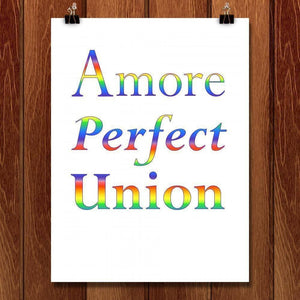 "Rainbow Perfect by Marcia Brandes 18"" by 24"" Print / Unframed Print A More Perfect Union"