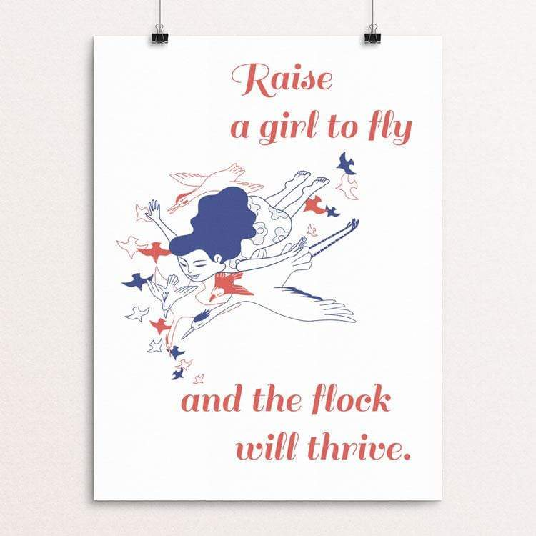 Raise a Girl to Fly and the Flock Will Thrive by Wenwen Manfred