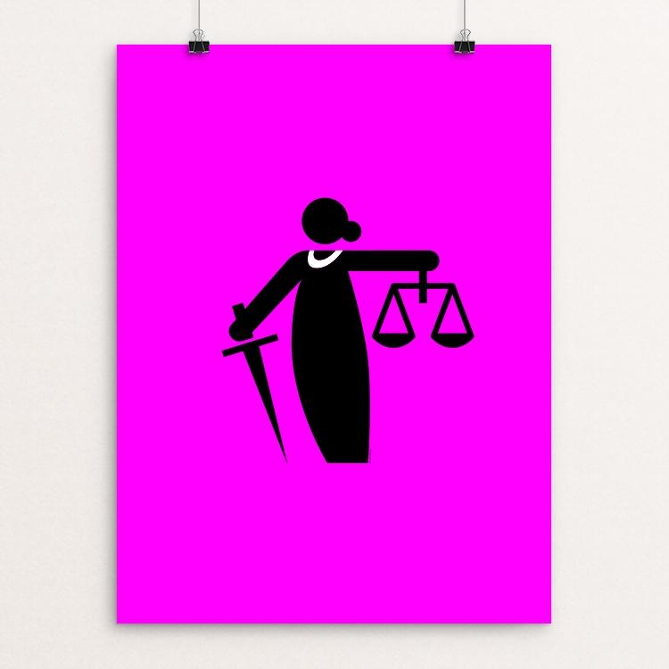 "RBG by Luis Prado 18"" by 24"" Print / Unframed Print Creative Action Network"