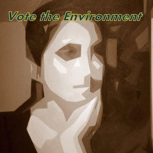 Reflecting Life Vote the Environment by Laura Hendrix