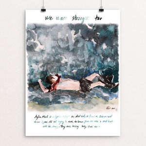 "Refugee by Pinar Ergun 12"" by 16"" Print / Unframed Print We Were Strangers Too"