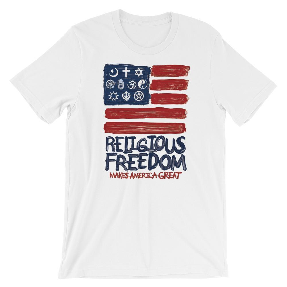 Religious Freedom Men's T-Shirt by Mark Forton