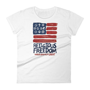 Religious Freedom Women's T-Shirt by Mark Forton