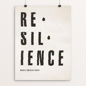 "Resilience by Emily Kelley 12"" by 16"" Print / Unframed Print What Makes America Great"