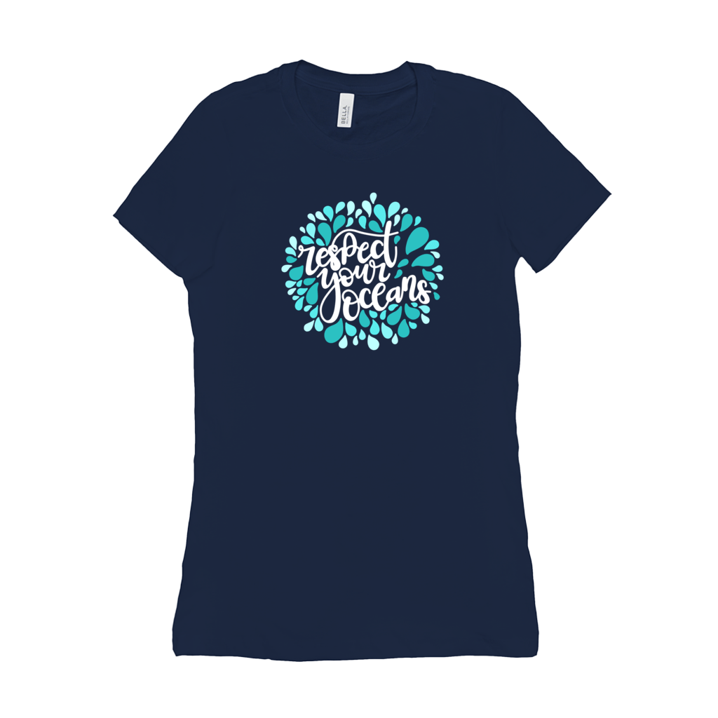 Respect Your Ocean Women's T-Shirt by Rachel Young