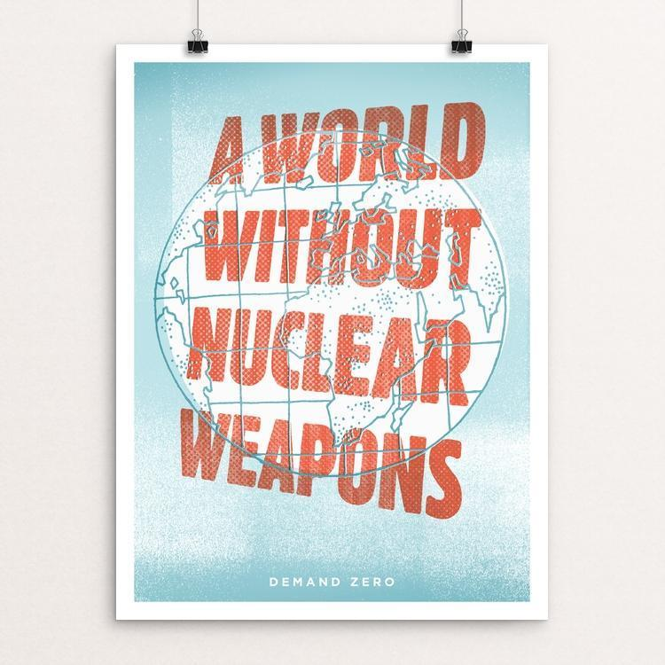 "Retro World by Casey Crisenbery 12"" by 16"" Print / Unframed Print Demand Zero!"