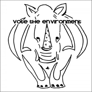 Rhinos for the Environment by Vivian Mason