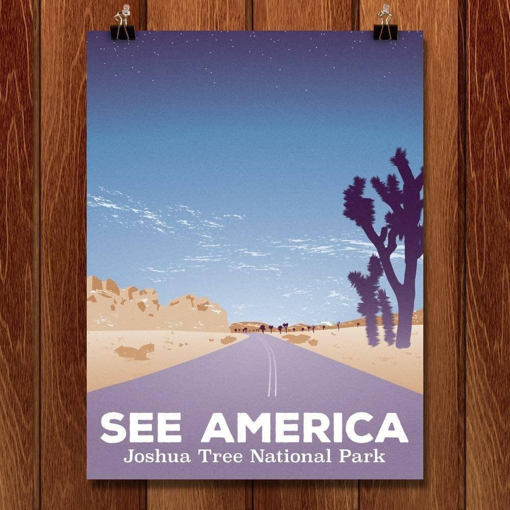 "Road Trip, Joshua Tree National Park by Victor Moreno 18"" by 24"" Print / Unframed Print See America"