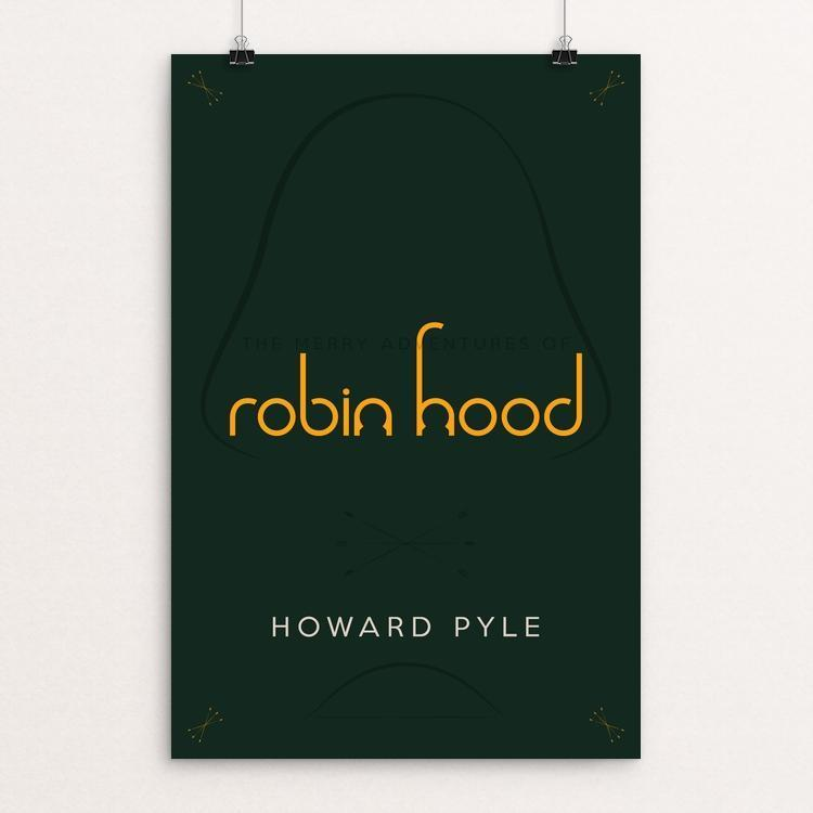 "Robin Hood 2 by Nick Fairbank 12"" by 18"" Print / Unframed Print Recovering the Classics"