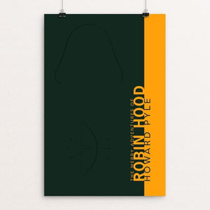 "Robin Hood by Nick Fairbank 12"" by 18"" Print / Unframed Print Recovering the Classics"