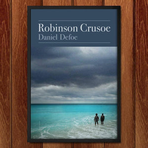 "Robinson Crusoe by Brixton Doyle 12"" by 18"" Print / Framed Print Recovering the Classics"
