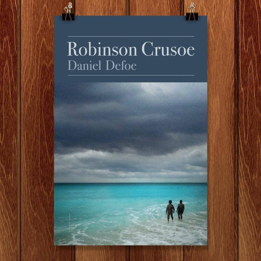 "Robinson Crusoe by Brixton Doyle 12"" by 18"" Print / Unframed Print Recovering the Classics"