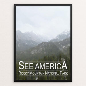 "Rocky Mountain National Park by Tyler Prevade 12"" by 16"" Print / Framed Print See America"