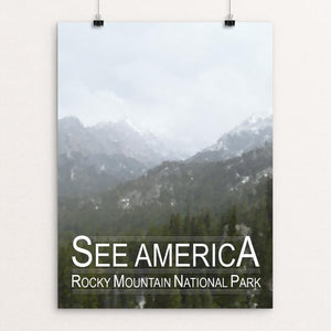 "Rocky Mountain National Park by Tyler Prevade 12"" by 16"" Print / Unframed Print See America"