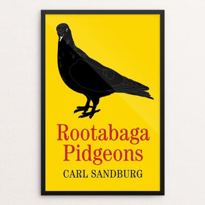 "Rootabaga Pigeons by Ed Gaither 12"" by 18"" Print / Framed Print Recovering the Classics"