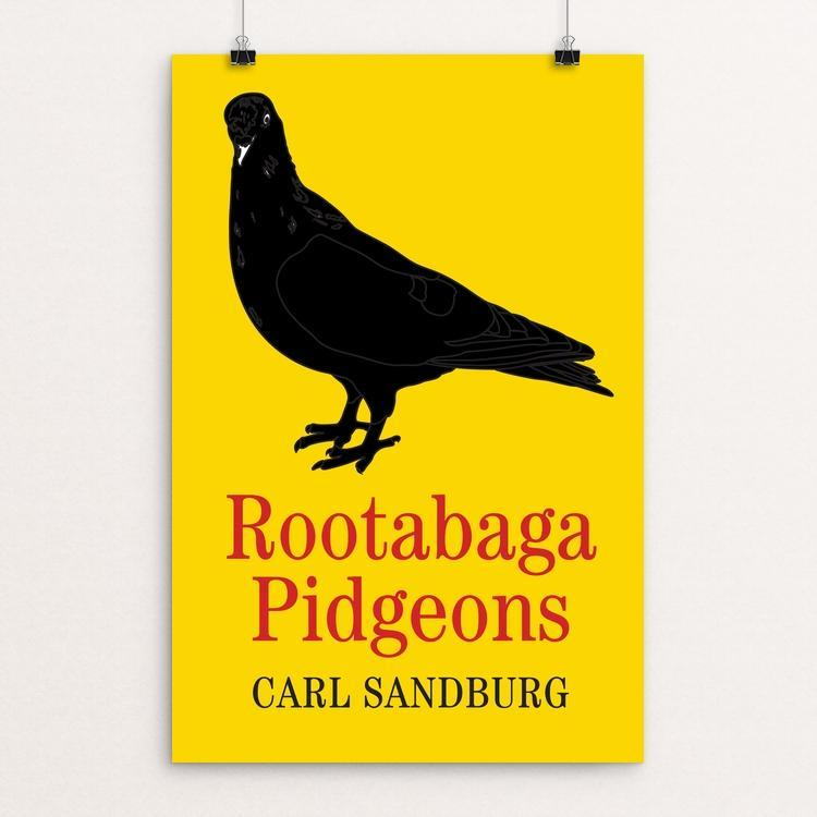 "Rootabaga Pigeons by Ed Gaither 12"" by 18"" Print / Unframed Print Recovering the Classics"