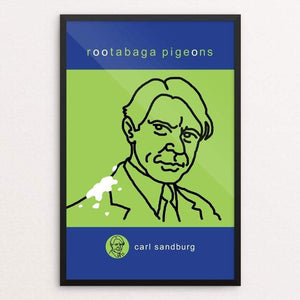 "Rootabaga Pigeons by Robert Wallman 12"" by 18"" Print / Framed Print Recovering the Classics"