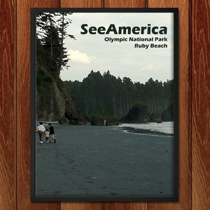 "Ruby Beach, Olympic National Park by Nathan 12"" by 16"" Print / Framed Print See America"
