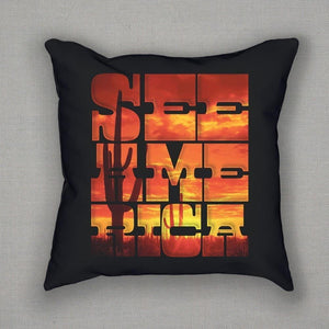 Saguaro National Park Pillow by Roberlan Borges Pillow See America