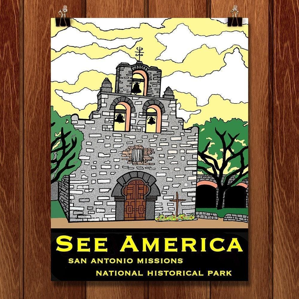 San Antonio Missions National Historical Park by Joshua Sierra