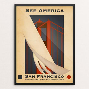 San Francisco Maritime National Historical Park by Todd Gilloon