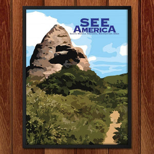 "Santa Monica Mountains National Recreation Area by Brendan A. Caruso 18"" by 24"" Print / Framed Print See America"