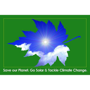Save Our Planet. Go Solar. by Bob Rubin