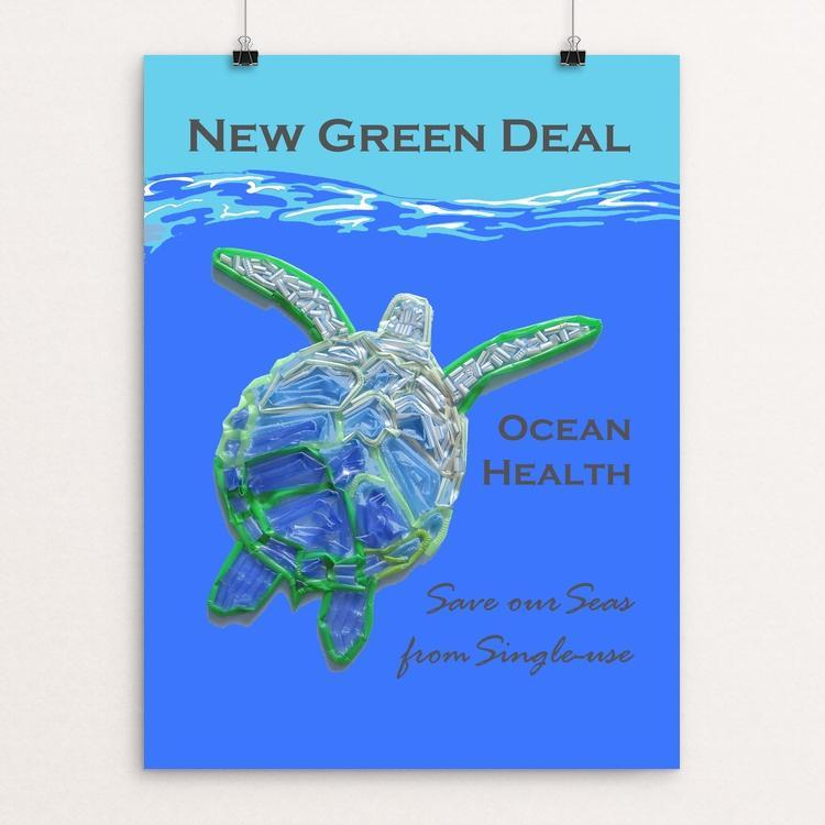 Save our Seas from Single-use 2 by Candy Medusa