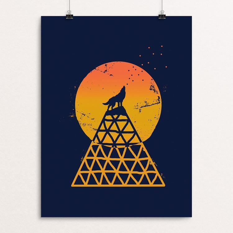"Save the Wolves by Emily Kelley 18"" by 24"" Print / Unframed Print Join the Pack"