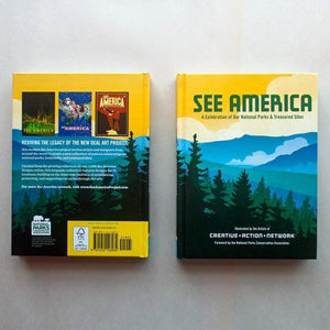 See America National Parks Gift Set Book See America