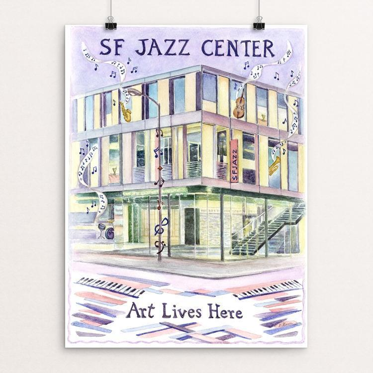 SF Jazz Center by Elizabeth Kennen
