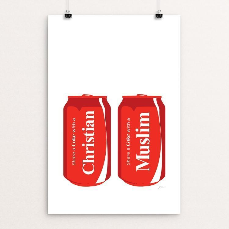 Share a Coke-Christian/Muslim by Keith Francis