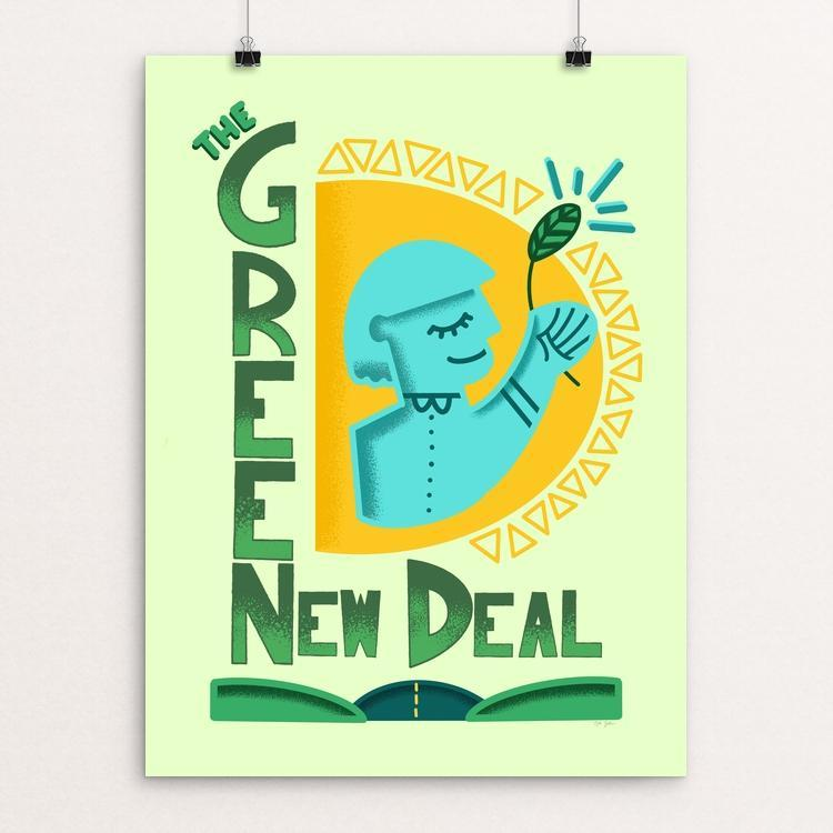 Shine On Green New Deal by Kyle Bachman