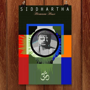 "SIDDHARTHA by BOB RUBIN 12"" by 18"" Print / Unframed Print Recovering the Classics"