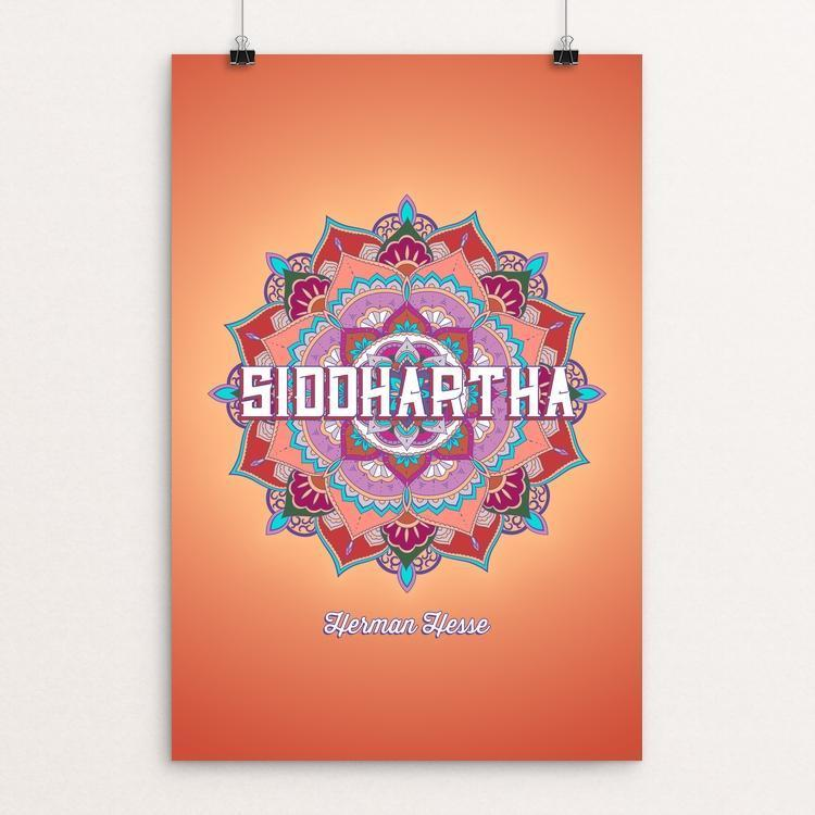 "Siddhartha by Christopher English 12"" by 18"" Print / Unframed Print Recovering the Classics"