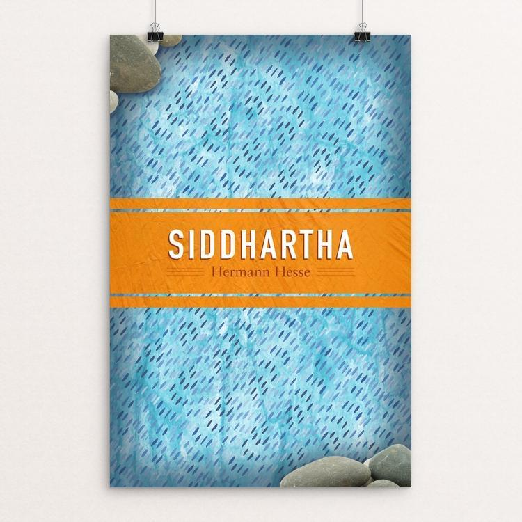 "Siddhartha by Dave Alsobrooks 12"" by 18"" Print / Unframed Print Recovering the Classics"
