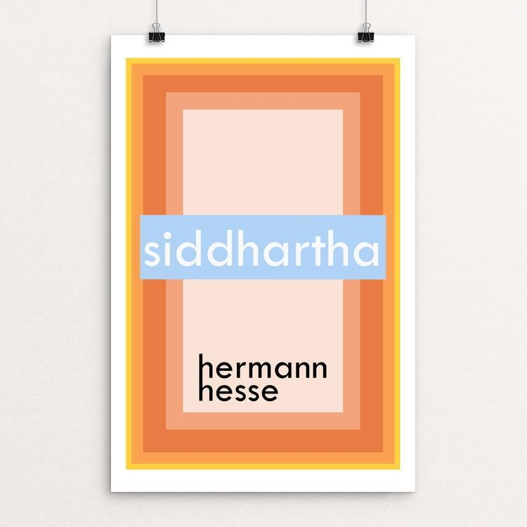 "Siddhartha by Kenny Whitebloom 12"" by 18"" Print / Unframed Print Recovering the Classics"