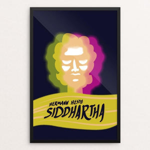 "Siddhartha by Lance King 12"" by 18"" Print / Framed Print Recovering the Classics"