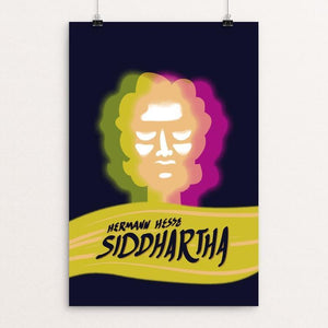 "Siddhartha by Lance King 12"" by 18"" Print / Unframed Print Recovering the Classics"