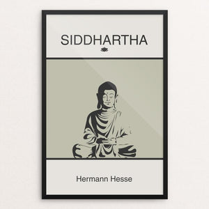 "Siddhartha by Meredith Watson 12"" by 18"" Print / Framed Print Recovering the Classics"