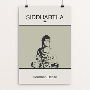 "Siddhartha by Meredith Watson 12"" by 18"" Print / Unframed Print Recovering the Classics"